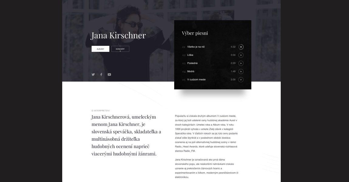 Studio Echt - case study - Slnko Records